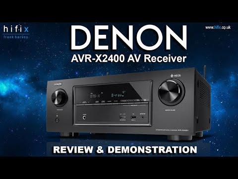 Denon AVR-X2400 AV Receiver Review & Demonstration MP3