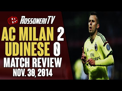 AC Milan 2 Udinese 0 | MATCH REVIEW | Rossoneri TV