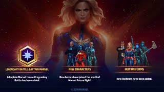Awesome New Characters & Uniform | Marvel Future Fight