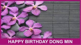 Dong Min   Birthday Spa