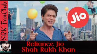 Reliance Jio Digital Life 4G, Shah Rukh Khan TV Commerecial Video - SRK