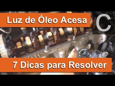Dr CARRO Luz de Óleo Acesa  7 defeitos