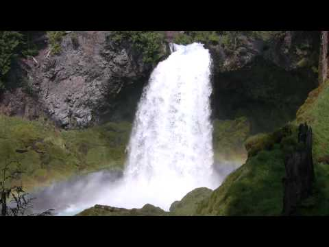 Very Relaxing 3 Hour Video of LARGE Waterfall