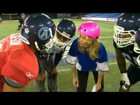 Go To Girl FOOTBALL - Tic-Tac-OhYeah! FEAT. The Argos and The Grey Cup (Out There Webisode)