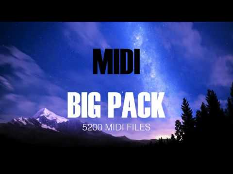 MIDI BIG PACK 2016 (+5200 MIDI FILES)