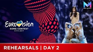 Eurovision 2017 | Rehearsals Day 2 - MY TOP 9
