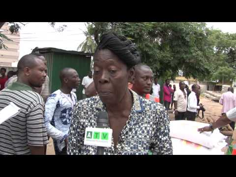 Accra PPP donates food items to flood victims