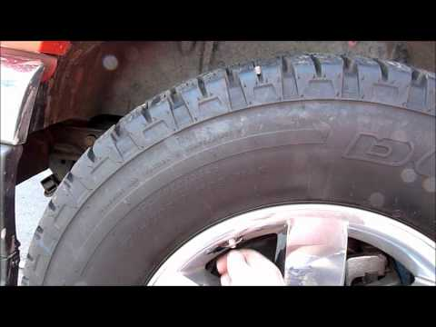 Resetting the Tire Pressure Monitoring System on your GMC Truck