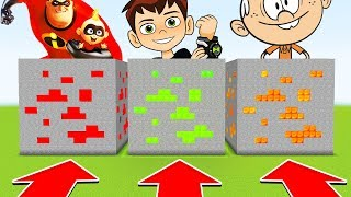 Do NOT CHOOSE THE WRONG ORE! (INCREDIBLES,BEN10,LOUDHOUSE)(Ps3/Xbox360/PS4/XboxOne/PE/MCPE)