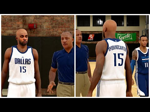 NBA 2K15 My Career - The Tryout For Dallas Mavericks PG Spot!
