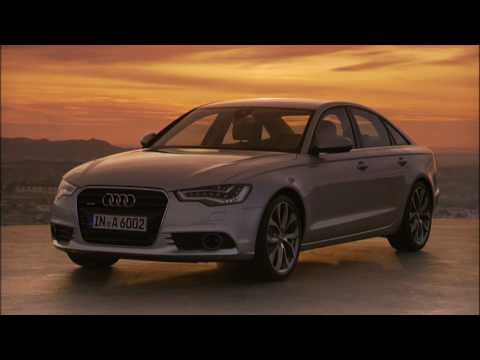 2012 Audi A6 raw footage - driving and statics shots