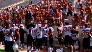 Sights and sounds: 2014 Texas Football Fan Day [Aug. 10, 2014]