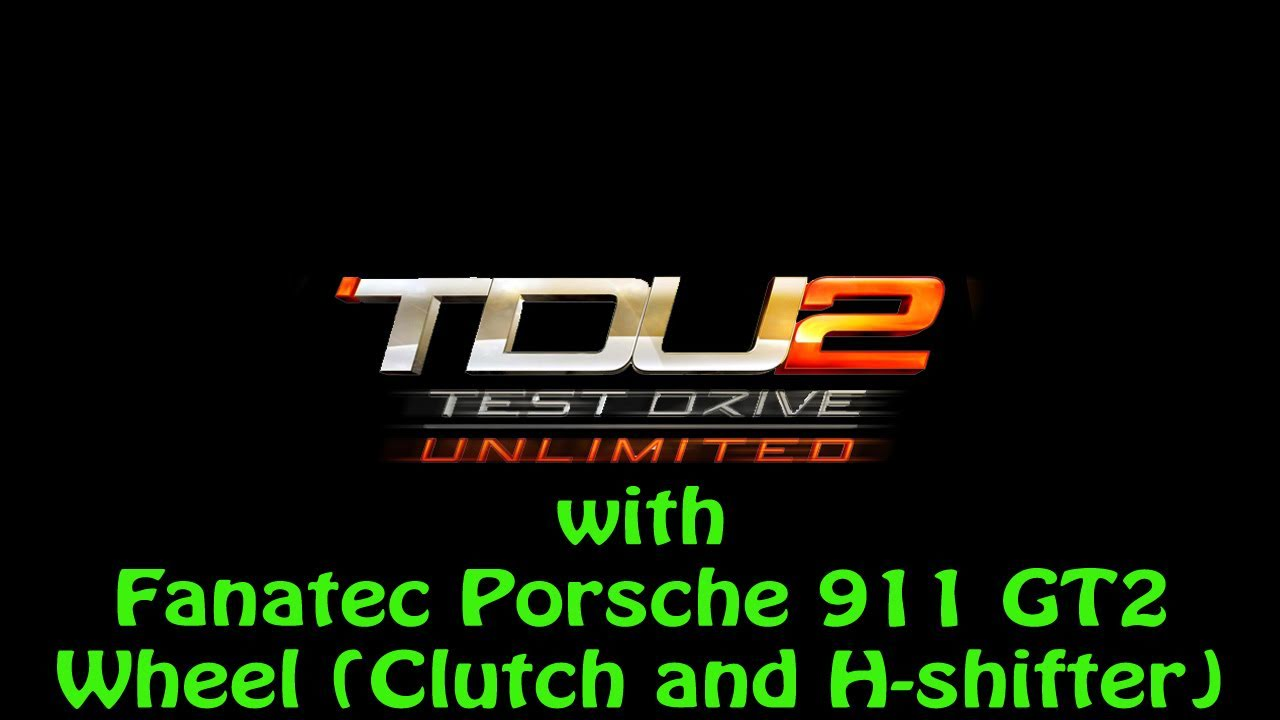 test drive unlimited 2 ps3 with fanatec porsche 911 gt2 wheel clutch and h shifter youtube. Black Bedroom Furniture Sets. Home Design Ideas