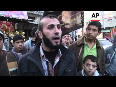 Palestinians celebrate death of former Israeli PM Ariel Sharon