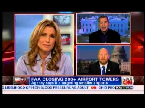 CNN Discusses FAA Tower Closures