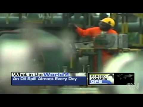 Nigeria- 50 years of oil spills