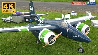 F7F TIGERCAT TWIN ENGINES Navy Fighter/Attack Airplane (Electric RC) [*UltraHD and 4K*]