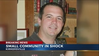 Small community of Kirkersville in shock after death of police chief