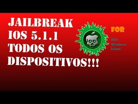 Como fazer jailbreak no iOS 5.1.1