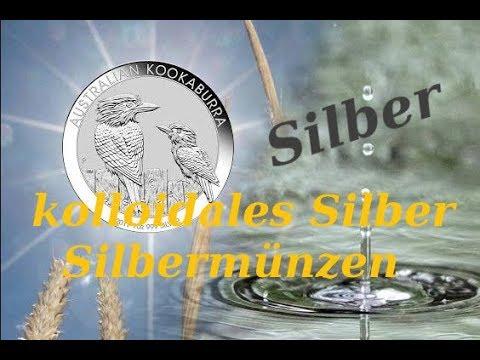 Silber * kolloidales Silber * Silbermünzen * Wasserdesinfektion, Gesundheit & finanzielle Vorsorge!