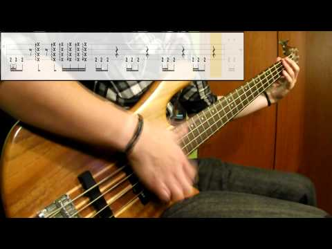 Mudvayne - Dig (Bass Cover) (Play Along Tabs In Video)