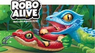 ROBO ALIVE I Real-life Robotic Pet Snake & Lizard  I  TV Commercial I  New Toys