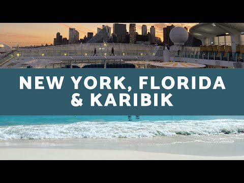 AIDAluna - New York, Florida & Karibik Highlights