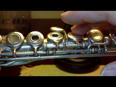 About Flute: Adjustment Screws (20130729AdjustScrews)