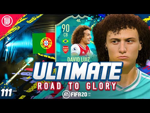 FLASHBACK DAVID LUIZ!!!! ULTIMATE RTG #111 - FIFA 20 Ultimate Team Road to Glory