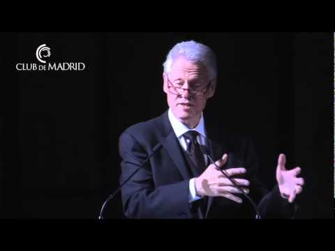 Club de Madrid - 2011 Democratic Leadership Award - Bill Clinton (II)