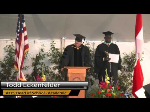 Wasatch Academy Graduation 2014