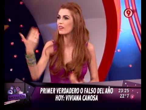 Duro - Verdadero Falso: Viviana Canosa (1ra parte) 05-03-10 Video
