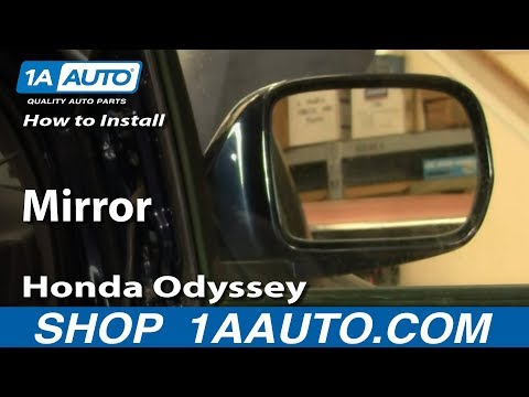 How To Install Replace Side Rear View Mirror  Honda Odyssey 99-04 1AAuto.com
