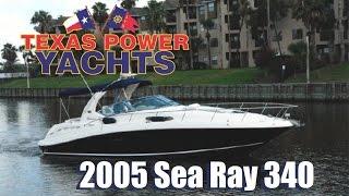 2005 Sea Ray 340 Sundancer for sale at Texas Power Yachts