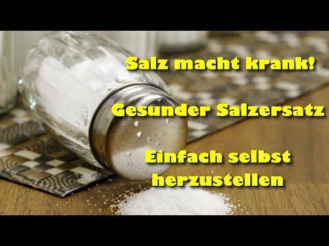 Zuviel Salz im Essen macht krank – Eine gesündere Alternative mit einfachem Rezept