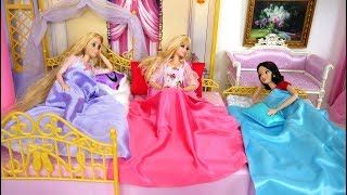 Princess 3 Sisters Castle Bedroom Morning Prinzessin Morgen Chambre de princesse Kamar tidur putri