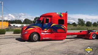 #001 International Prostar Custom SHOW RIG!