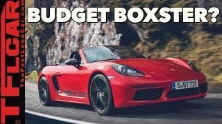 2019 Porsche 718 Boxster & Cayman T: Porsche's Least Expensive Sports Car Gets Sportier!