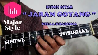 Nella Kharisma Jaran Goyang Kunci Gitar, Melodi & Bass
