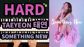 Taeyeon 태연 - Something New - Piano Cover (Top K-Pop Music)