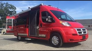 Winnebago Travato Nomad RV Camper Van Conversion on Fiat Ducato Ram Pro Master