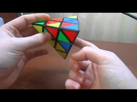 Pyraminx example solves. Примеры сборок пирамидки