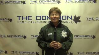 Draw 6 Interview from The Dominion Curling Club Championship 2012