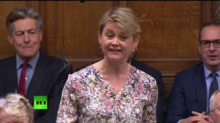 LIVE: Yvette Cooper asks Urgent Question about what happens if no deal is reached by 21 January