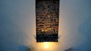 Custom Water Wall Fountain by Creative Cascades