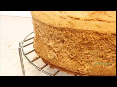 Рецепт классического шифонового бисквита- просто, вкусно, по-домашнему!