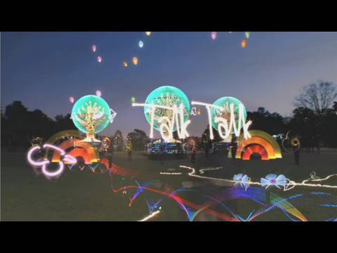 LICHTFAKTOR - Talk Talk Brighter - Light Painting Commercial by Noah Harris