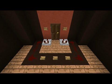 Minecraft как сделать секретный сундук