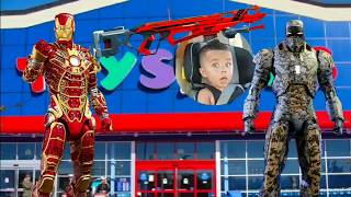 TOY HUNT at Toys R Us with DC Kaiju | Iron Man Obsession!