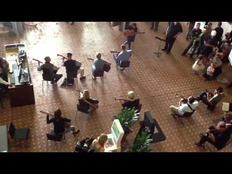 Encinitas Guitar Orchestra Flash Mob-Pachelbel's Canon in D, Official version